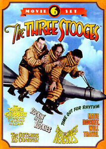 The-Three-Stooges-Collection-6-Movie-Set-2-Disc-DVD-NEW