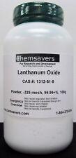 Lanthanum Oxide Powder 325 Mesh 9999 100g