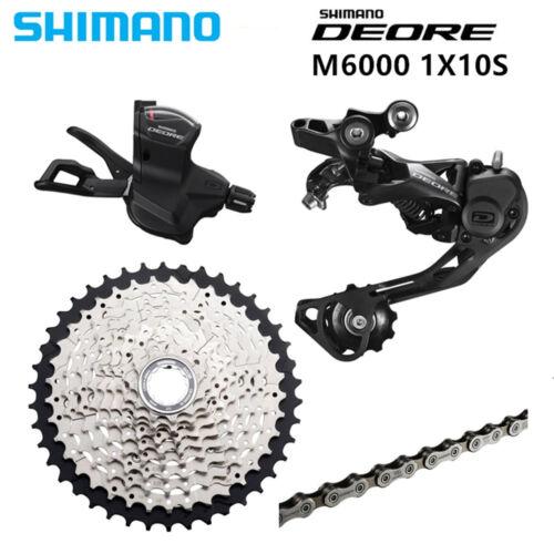 Shimano Deore Groupset M6000 10 Speed groupset 4pcs Derailleur Set 11-42T