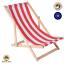 Liegestuhl-Holz-Strandliege-Sonnenliege-Gartenliege-Buchenholz-Liege-120-kg Indexbild 14