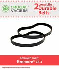 2 Kenmore CB-3 CB3 Belts Fit Powermate Canister Vacuums Part # 20-5218