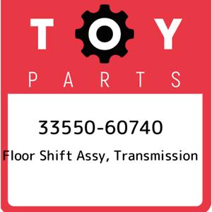 33550-60740-Toyota-Floor-shift-assy-transmission-3355060740-New-Genuine-OEM-Pa