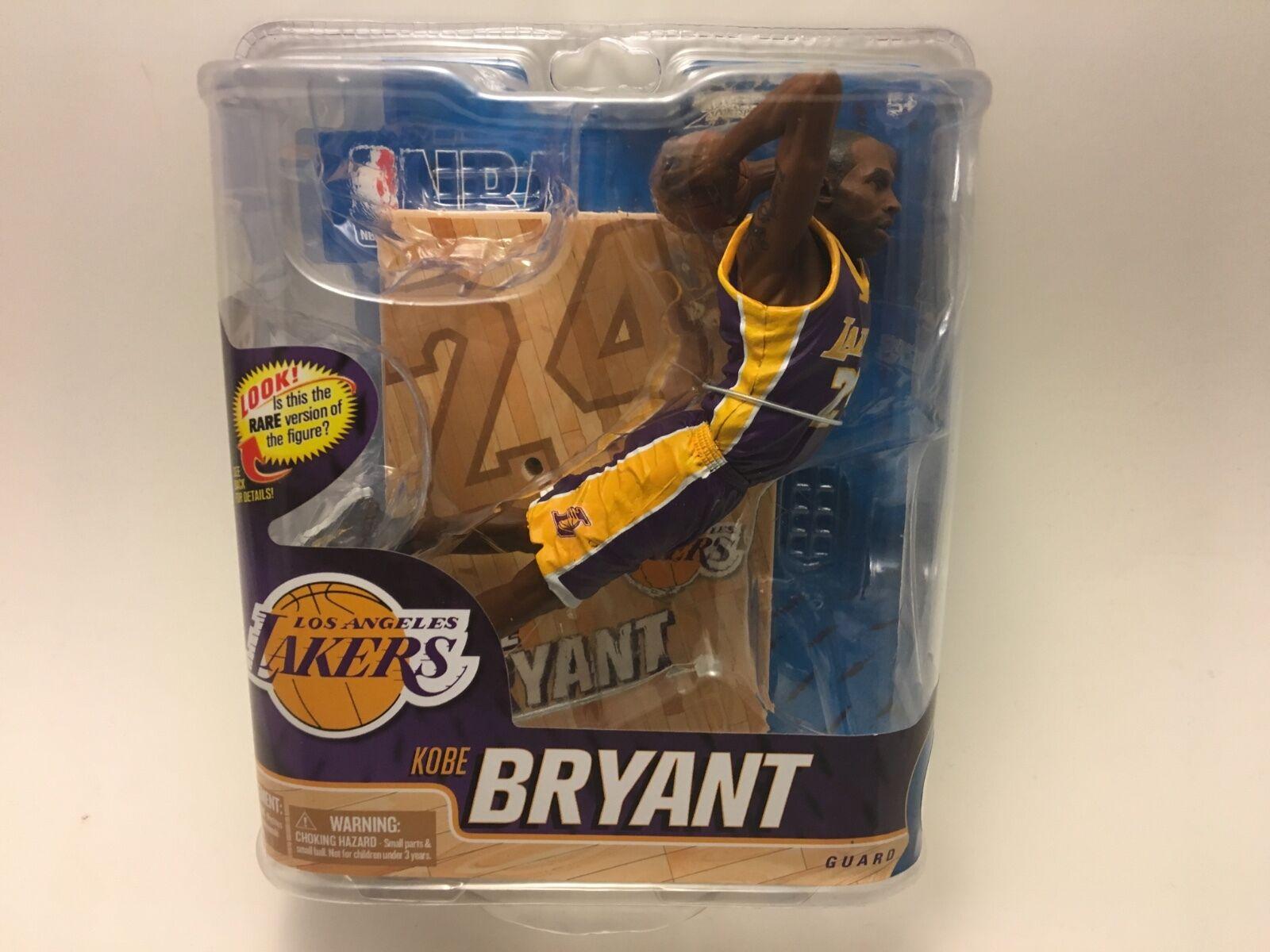 Kobe Bryant McFarlane Rare Chase Variant Purple Jersey Series 20  2000 MISP