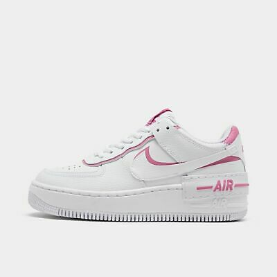 AUTHENTIC NIKE Air Force 1 Shadow White Magic Flamingo Pink CI0919W Women  size | eBay
