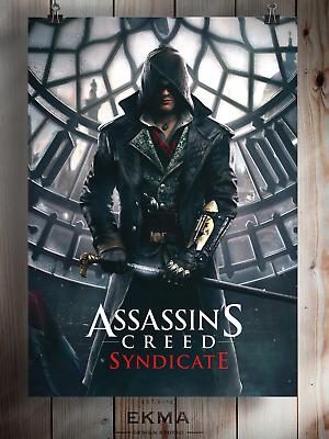 Assassin/'s Creed Syndicate Art Poster Print Wall Deco A3 A4 5x7 Satin Matt Gloss