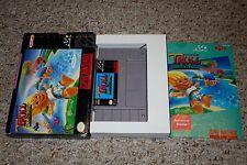 Super Troll Islands (Super Nintendo SNES, 1994) Complete in Box GREAT CC