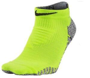 Nike-Running-Dri-fit-De-Agarre-Calcetines-al-tobillo-deportes-Para-Hombre-Mujer-senoras-Amarillo