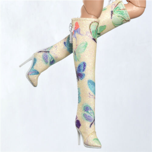 Sherry Boots shoes for Fashion royalty FR2 Nu Face 2 poppy parker obitsu 7FR2-30