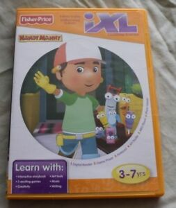 Details about Fisher Price IXL Learning System Handy Manny - Free Shipping