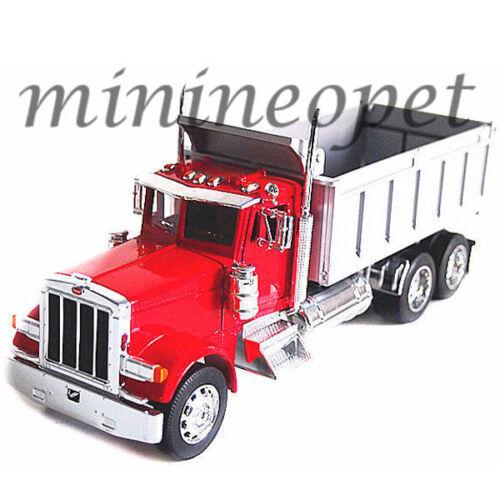 WELLY 39944 SUPER HAULER PETERBILT 379 DUMP TRUCK 1/32 RED
