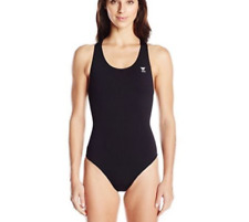 439619ef20 TYR Women s Durafast One Solids Cutoutfit Swimsuit Black Size 34 ...
