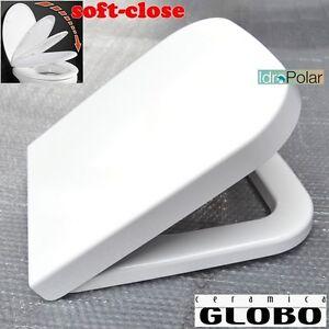 Sedile Wc Chiusura Rallentata.Dettagli Su Nuovo Sedile Wc Originale Stone 45 36 Ceramica Globo Chiusura Rallentata Soft