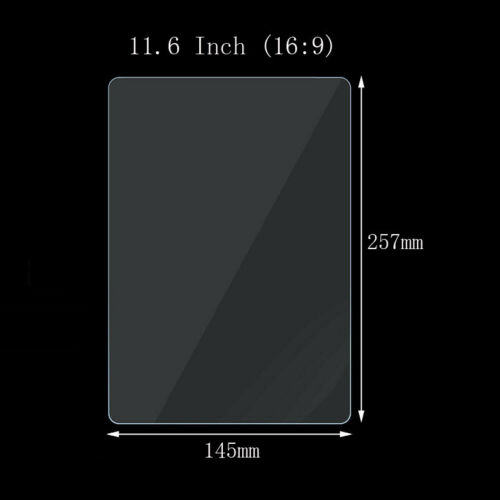 """2Pcs Universal Tablet Tempered Glass Screen Protector For 7/"""" 8/"""" 10.1/""""-15.6/"""" Inch"""
