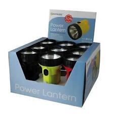 Lloytron D966 Battery Powered Lantern Torch Flashlight Krypton Bulb Mixed Colour