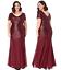 Goddiva-Chiffon-Inserts-Sequin-Maxi-Evening-Dress-Party-Bridesmaid-Prom-Sz-16-26 thumbnail 14