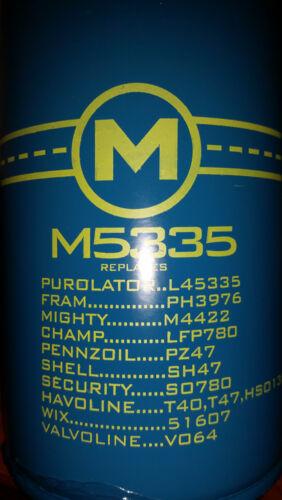 2 OIL /& FUEL FILTER GF67L - REPLACES 4936025 53034051AB 6.7L TURBO DIESEL AIR