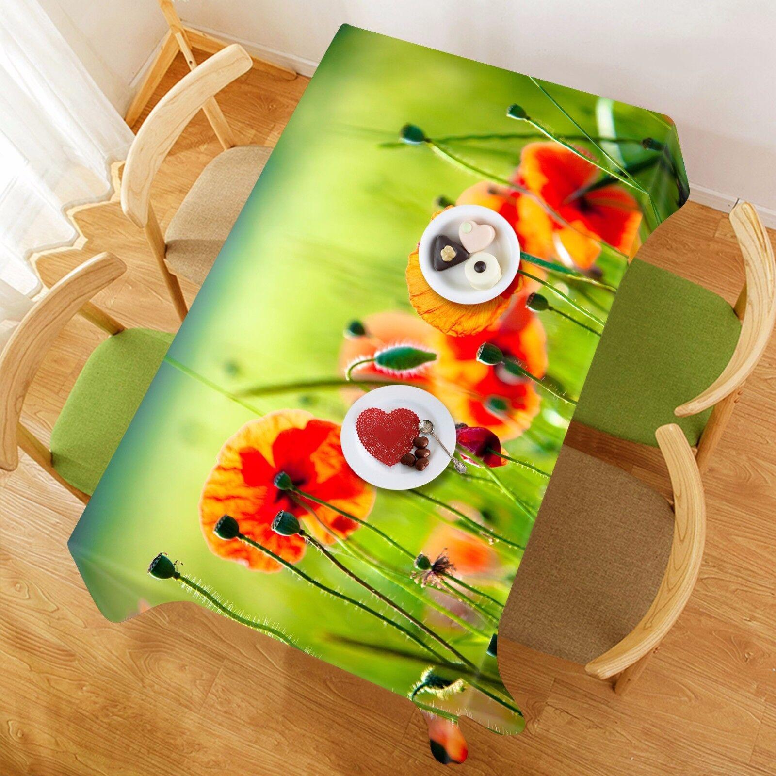 3D Fleur 820 Nappe Table Cover Cloth Fête D'Anniversaire événement AJ papier peint UK