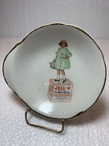 Antique Advertising Jello Girl Dish.