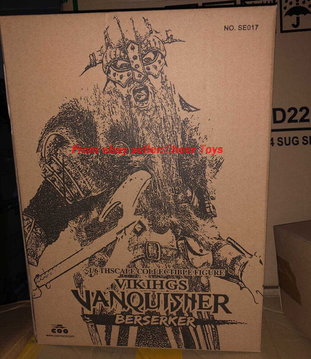 COOMODEL NO.SE017 1 6 Viking invicto DIE-CAST Aleación Berserker En Stock