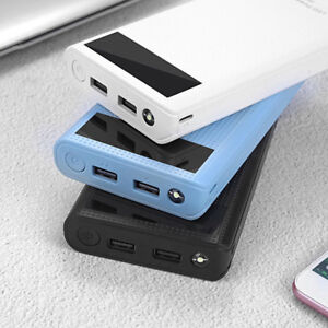 5V-2-1A-Dual-USB-7X-18650-Power-Bank-Case-Kit-Battery-Charger-Box-Case-DIY-YI