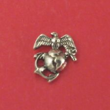 USMC / Marine Tie Tack Pin Sterling Silver (#26)