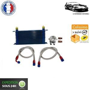 Kit radiador de aceite Universal 10 filas con tubos para Volkswagen
