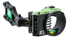 IQ Ultra Lite 5 Pin Bow Sight .019 Pins Black Left Handed