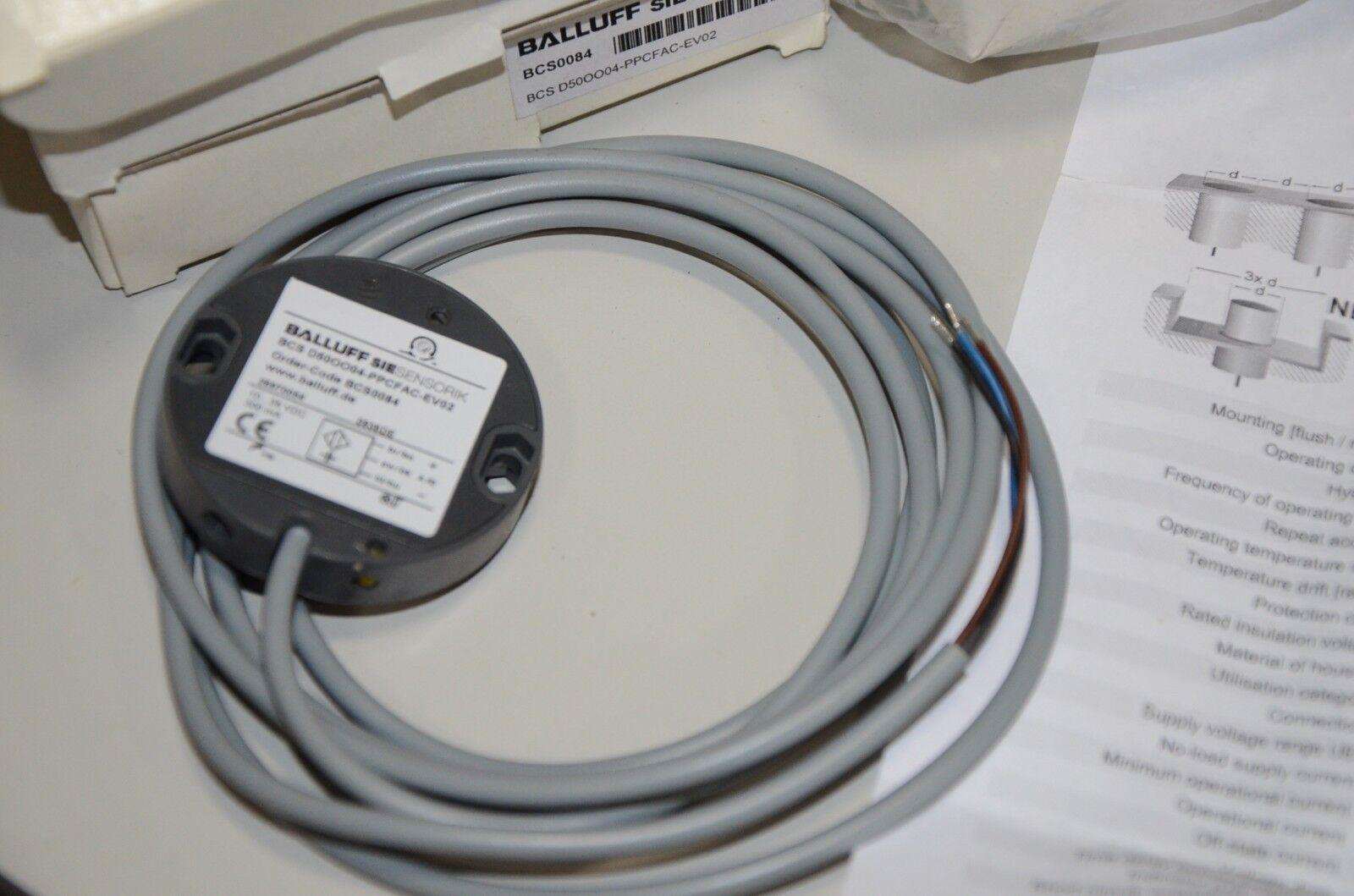 Balluff Siesensorik Bcs0084 Bcs 0084 D50oo04 Smart Level Sensor Ebay Wiring Diagram