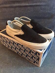 624ef9f469 Vans Vault OG Slip-On 59 LX Marshmallow Kanye West Size Sz 10M 10 ...