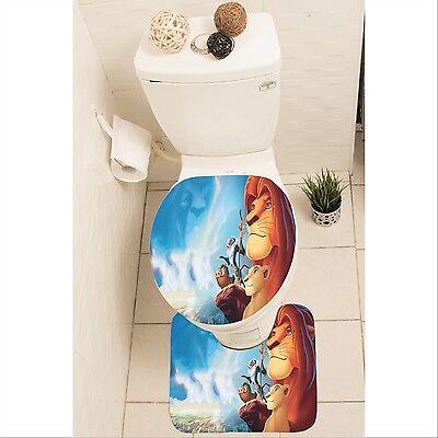 Set Mat Toilet Lid Cover Y70