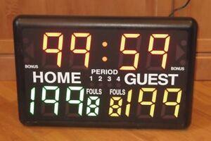 Trigon-Sports-Portable-Indoor-MultiSport-Tabletop-Digital-Timer-amp-Score-Board