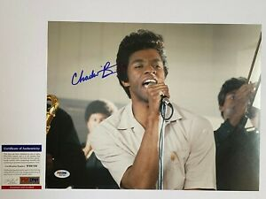CHADWICK-BOSEMAN-SIGNED-GET-ON-UP-11X14-PHOTO-AUTOGRAPH-PSA-DNA-COA-AVENGERS-B