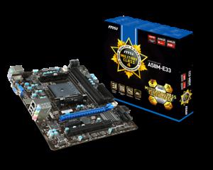 MSI A58M-E33 MILITARY CLASS 4 Motherboard AMD FM2+