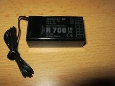 Empfänger Graupner R 700 - (40 Mhz)   '''neu'''