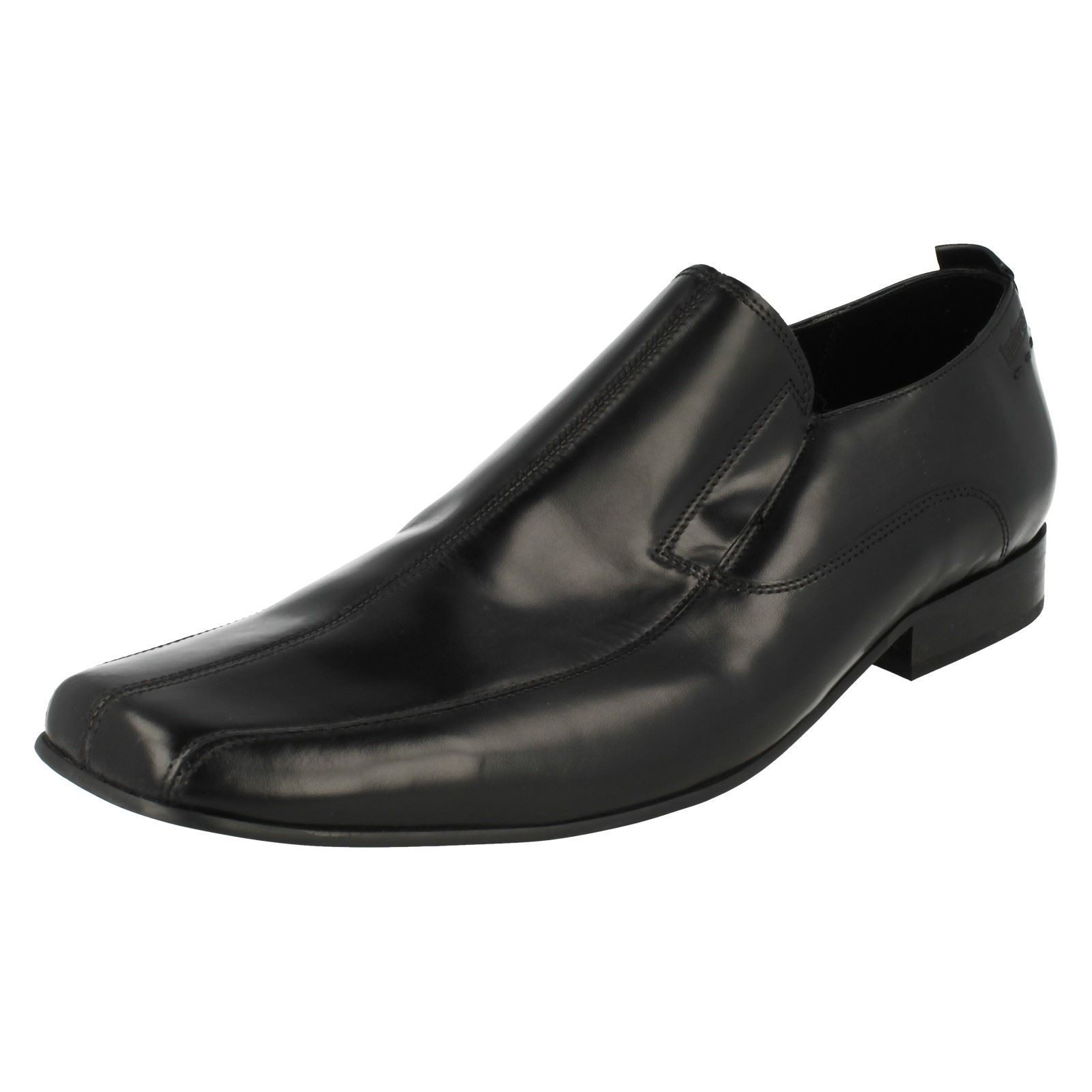 Lambretta Crowley Mens Black Slip on Shoe (R62A) Sizes 7 & 10 (R62A) Shoe (Kett) 2285fc