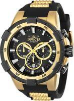 Invicta 25135 Aviator Chronograph 51.5mm Black Dial Men's Watch