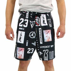 cheap prices cheap for sale half price Details zu Nike Jordan Jumpman Gfx Mesh Shorts Trainingshose Kurz Herren  Schwarz AO9585 010