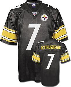 8ef4fca72 Image is loading Pittsburgh-Steelers-Ben-Roethlisberger-Reebok-Big-Kids- Youth-