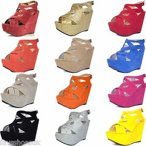 WOMENS-LADIES-PLATFORM-HIGH-HEEL-WEDGE-SHOES-STRAPPY-SANDALS-SIZE-3-8