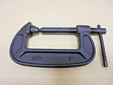 """3/"""" Open x 1.5/"""" Deep C Clamp Drop Forged Steel"""