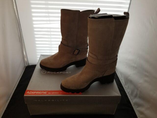 ea3849d257329d Rockport LRIIL Tan Buckle Mid Boot Size 5.5 US Medium V76060 New With Defect