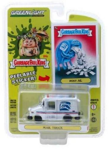Mail Truck  POST GARBAGE PAIL KIDS  Greenlight  1:64 OVP  Limited Edition