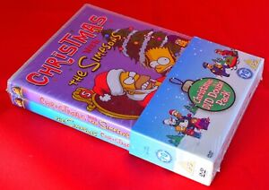 The-Simpsons-Christmas-With-The-Simpsons-DVD-2-Disc-Set-NEW-amp-Sealed