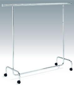 Kleiderstaender-Rollstaender-Kleiderstange-Verkaufsstaender-Ladeneinrichtung-Neu