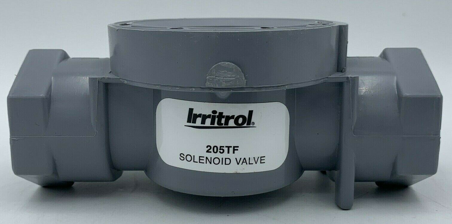 NEW Irritrol 205TF Electric Sprinkler Solenoid Valve BASE ONLY Gray FREE SHIP!