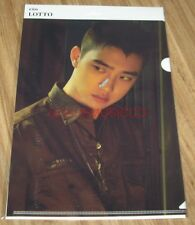 EXO LOTTO SMTOWN COEX Artium SUM OFFICIAL GOODS DO D.O. CLEAR FILE L-HOLDER NEW