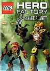 Lego Hero Factory Savage Planet 0883929186402 With Malcolm McDowell DVD