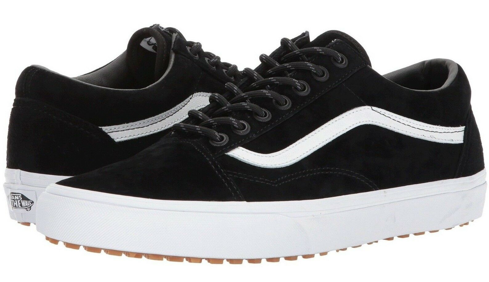 Vans Old Skool MTE BLACK/WHITE Shoes Size Men's 8.5