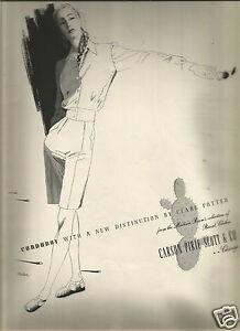 40 S Carson Pirie Scott Co Clare Potter Fashion Ad 1943 Ebay