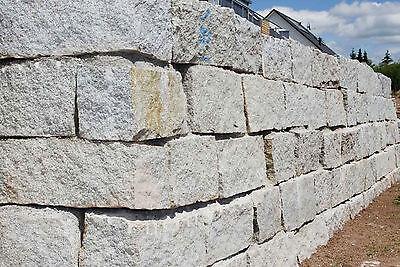 Ansehen RüCksichtsvoll Granitmauersteine Granitblöcke Granit Steine 24 Tonnen Inkl.lieferung Eine GroßE Auswahl An Farben Und Designs